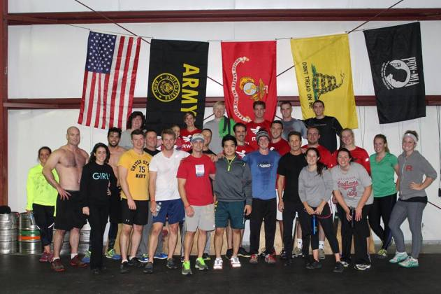 Wod for Warriors 2013